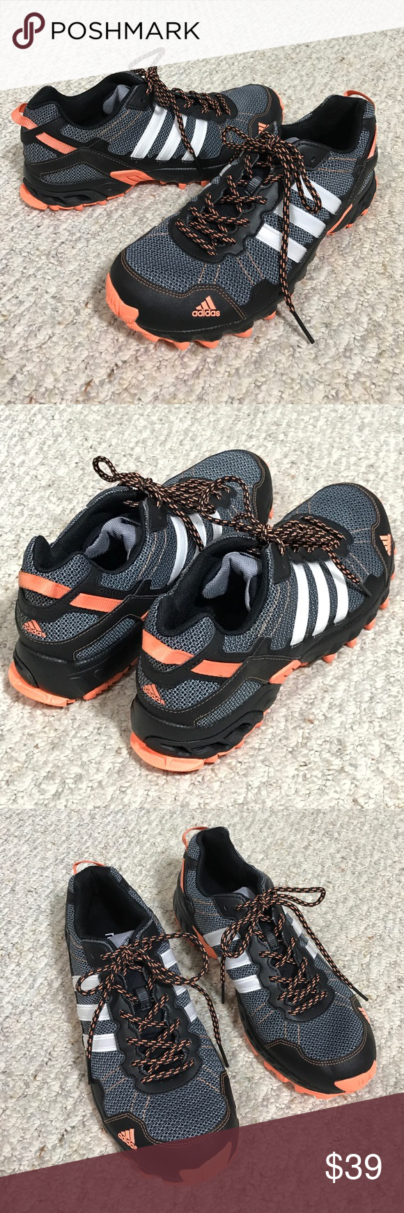 Adidas Running/Trail Shoes Excellent Condition! Men's trail/ off road performance running shoe. Light and comfortable. True to size 11. ❌Trades ❤️Bundle and save! No 👎lowball offers please!!! adidas Shoes Athletic Shoes