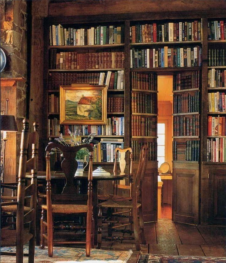 Home Libraries, Secret Rooms