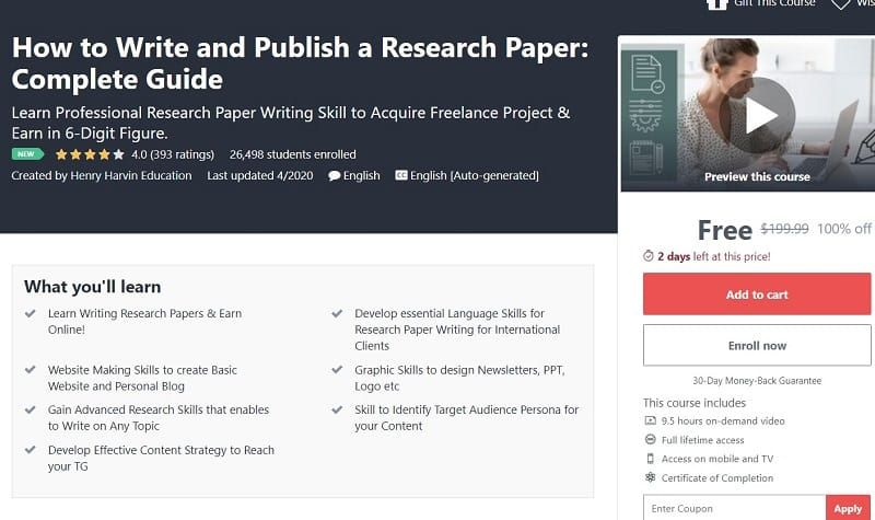 How To Write And Publish A Research Paper Complete Guide In 2020 Research Paper Research Skills Internet Skills