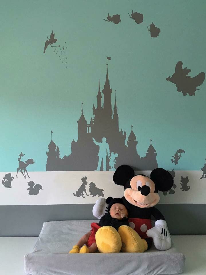 Disney Nursery Wallpaper