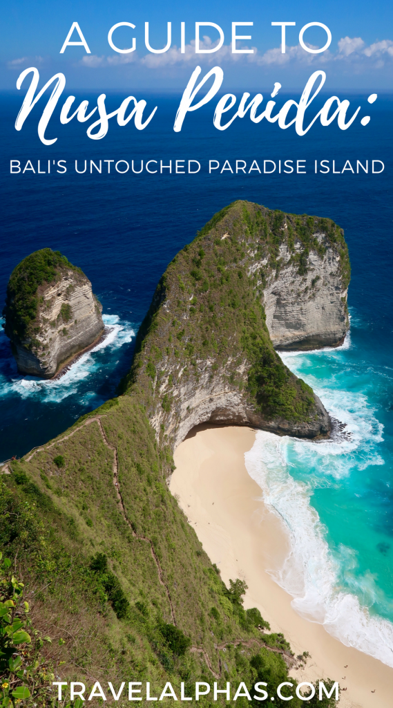 If you are traveling to Bali, Indonesia, then put the island of Nusa Penida on your radar.This rustic and incredibly beautiful island has somehow gone unnoticed for decades, and it currently resembles what Bali was 40 years ago: pure and pristine island paradise. This travel guide details how you can take a day trip to Nusa Penida from Bali. Between how to get there and how to get around, to what to do and see, this post includes everything you need to know for a successful trip to Nusa Penida!