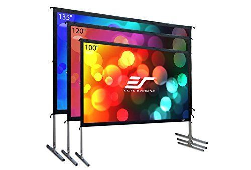 Elite Screens Yard Master 2 100 Inch 16 9 4k 8k Ultra Hd Active 3d Hdr Ready Por Outdoor Projector Screens Outdoor Movie Screen Outdoor Projection Screen