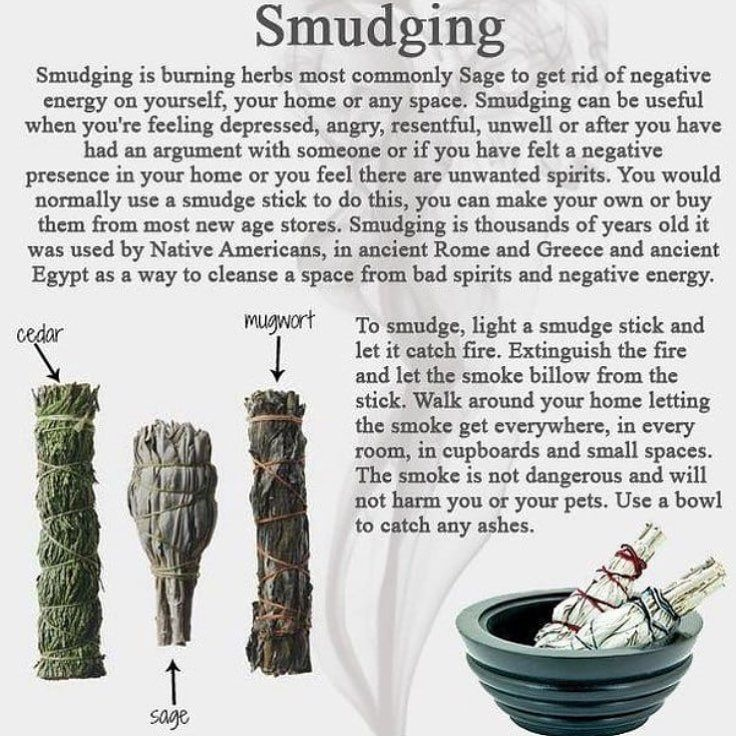 What Do You Smudge With? 💨 I didn't even know you could