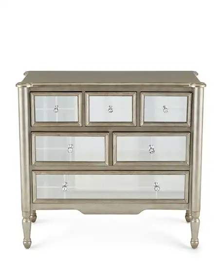 Macy Mirrored Chest | Furniture disposal, Mirrored furniture