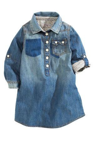 Buy Denim Shirt Dress (3mths-6yrs) from the Next UK online shop