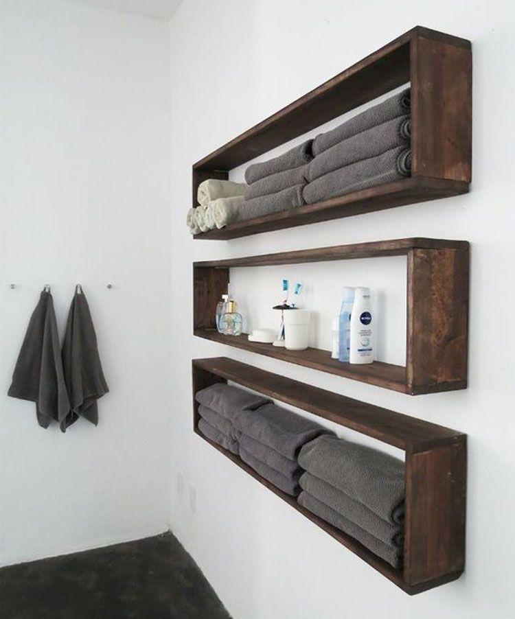 67 Best Small Bathroom Storage Ideas: Cheap Creative Organization (2020)