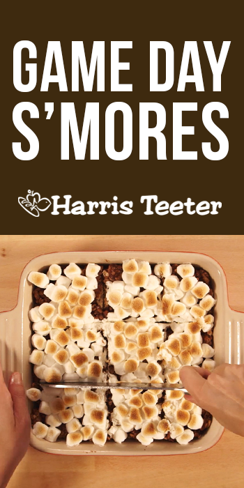 Score big on game day with this S'mores recipe! #TeeterRecipes