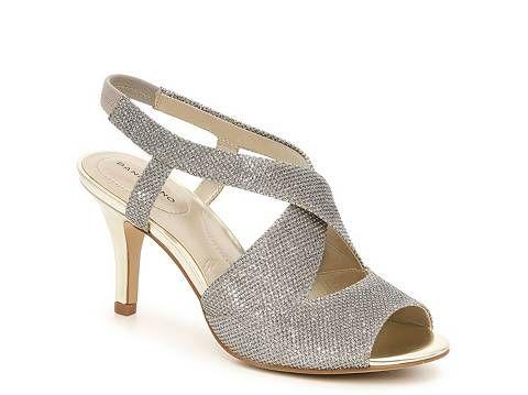 Bandolino Malorie Wishbone Sandal Shoes Bride Shoes Low Heel Sandals