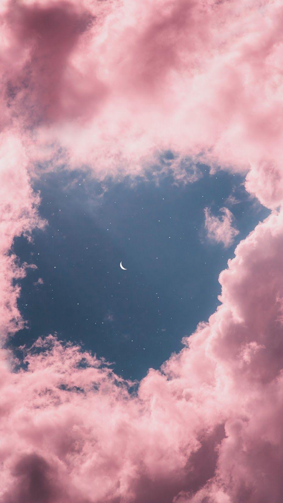 Aesthetic moon wallpaper Fondos de pantalla cielo
