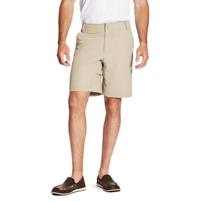 272942afee Big Men's Performance Heather Active Flex Waistband 4-Way Stretch Golf  Short in 2019 | Products | Beige shorts, Short outfits, Stretch fabric