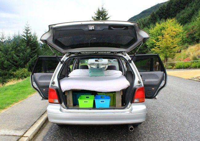 Honda Odyssey Camper Nz Google Search Linda Camping And