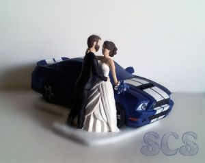 ford truck wedding cake topper custom wedding cake topper shelby ford mustang and 14404