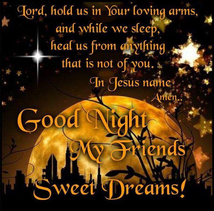 Goodnight Prayer To All