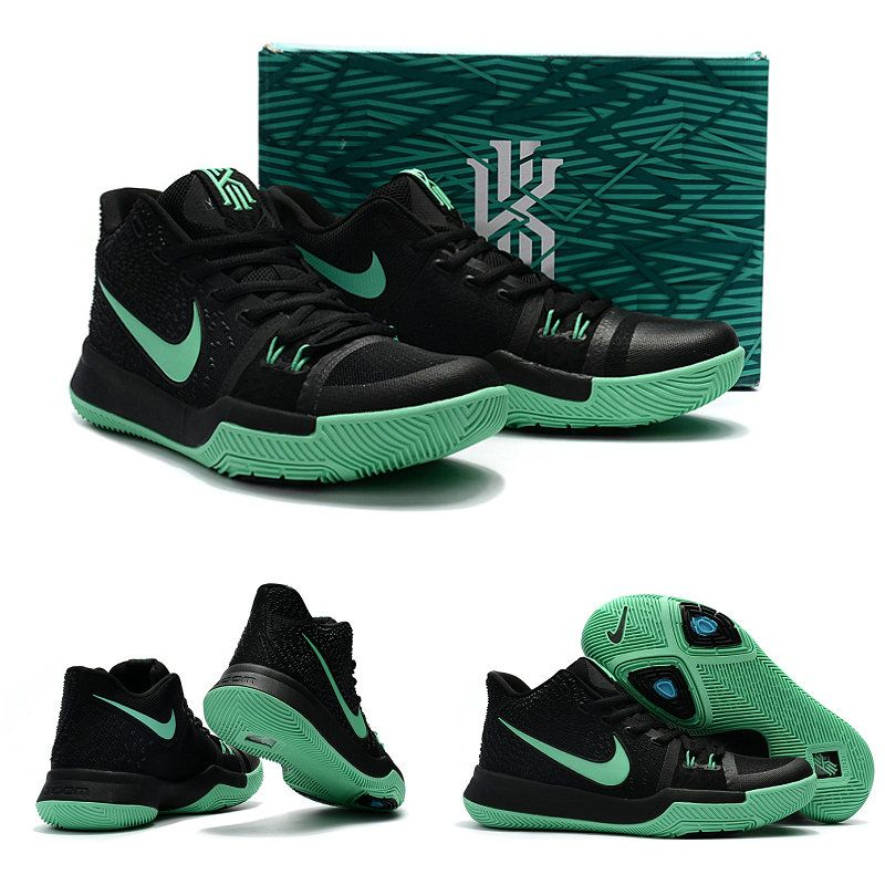 cb3524e610ad ... canada february 172017 shoes nike kyrie 3 mint black green glow 7bc15  0d393
