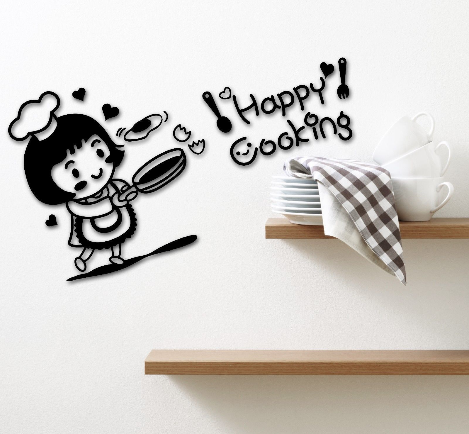 Details about wall stickers vinyl decal for kitchen chef