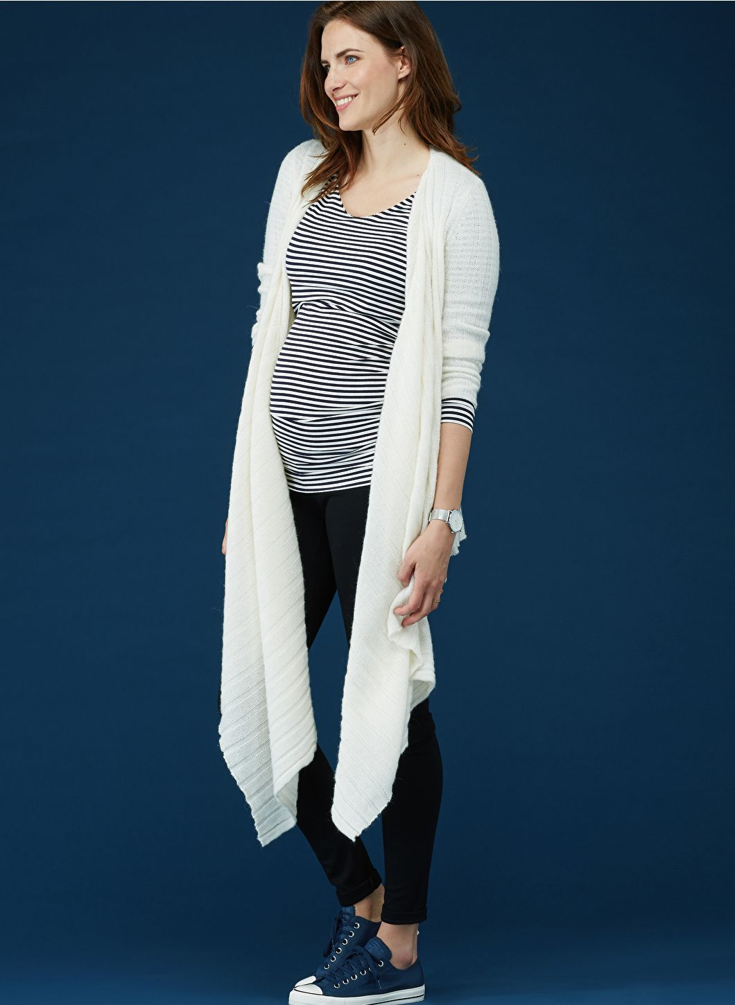 d8f4cba5ed7a0 The Maternity Wrap Cardigan | Isabella Oliver | Wrap cardigan, Wraps ...