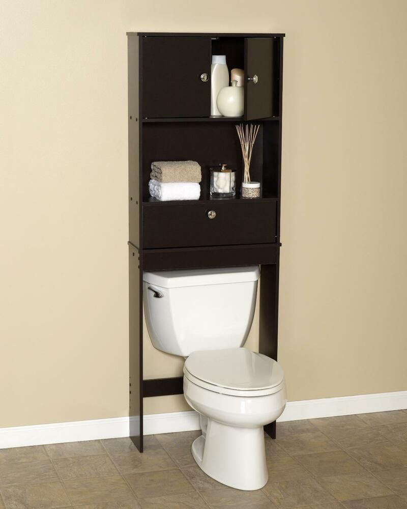 Bathroom Towel Storage Cabinets Over The Toilet Shelf Bathroom