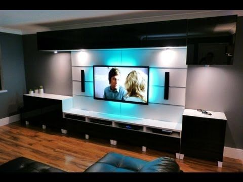 ikea entertainment center | Ikea Besta Framsta Wall Mount ...