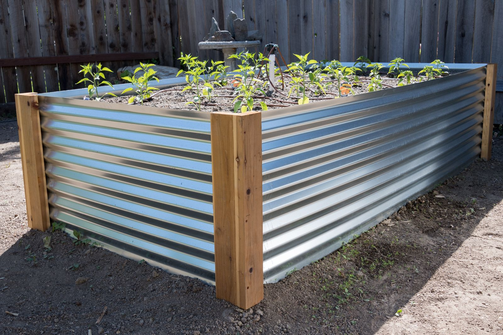 How To Build A Raised Metal Garden Bed Building A Raised Garden