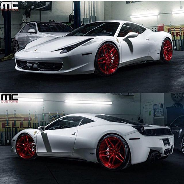 Ferrari 458 | follow: @mccustomsmiami • @mccustomsmiami | for more great builds | www.mc-customs.com |
