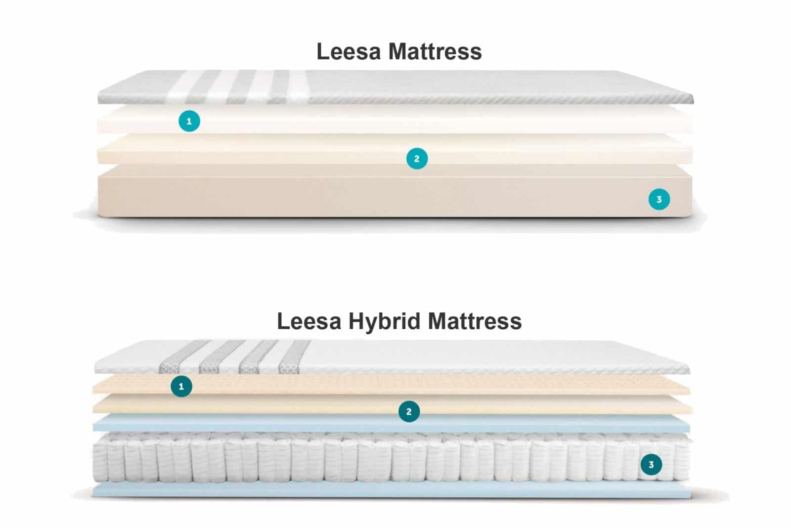 Leesa Vs Casper A Head To Head Comparison Leesa Healthy Mattress Mattress Cleaning