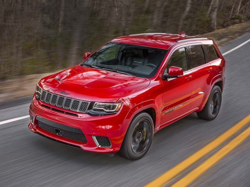 Jeep Grand Cherokee Trackhawk Jeep Grand Cherokee Srt