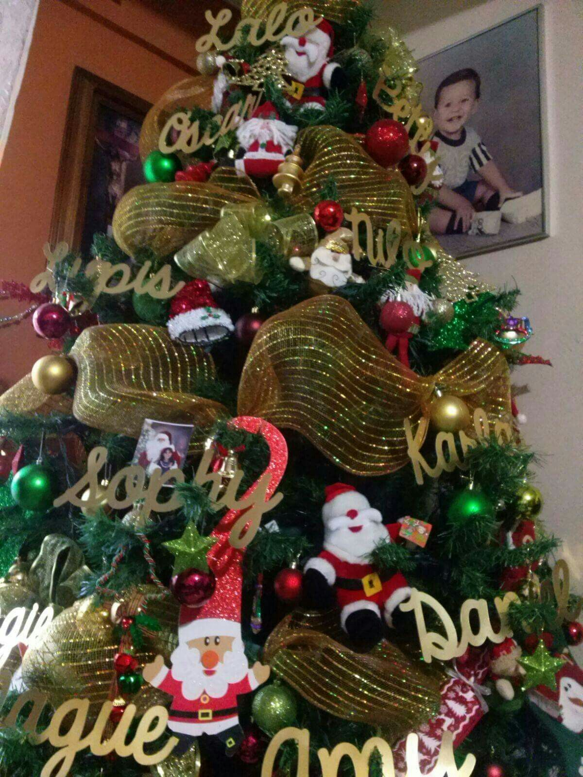 Nombres para pinos navide os pinos de navidad decorados - Decoracion arboles navidenos ...