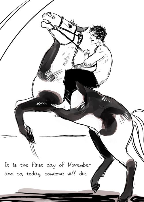 Well today is November 1st. In this case, Sean and the deadly piebald.