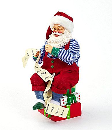 Possible Dreams Traditions Collection Santa Claus is Coming to Town Figurine