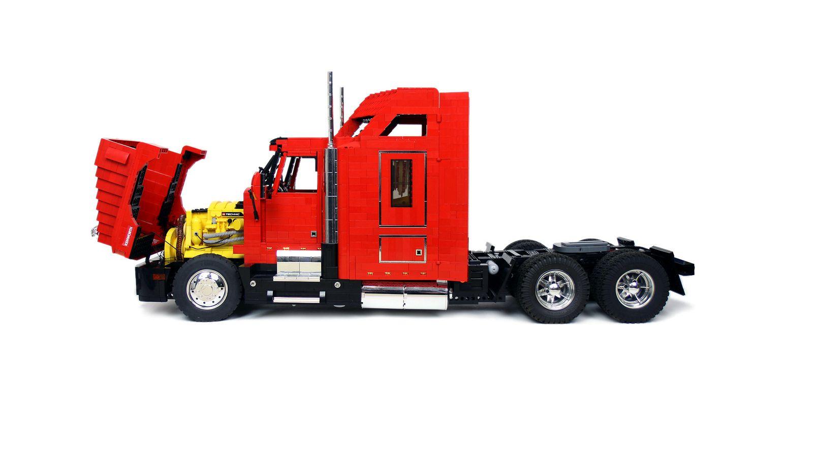 Kenworth T600 | Lego truck, Big trucks, Trucks