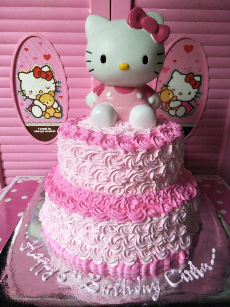 Kue ultah hk 2 tingkat cake ultah Pinterest Cake