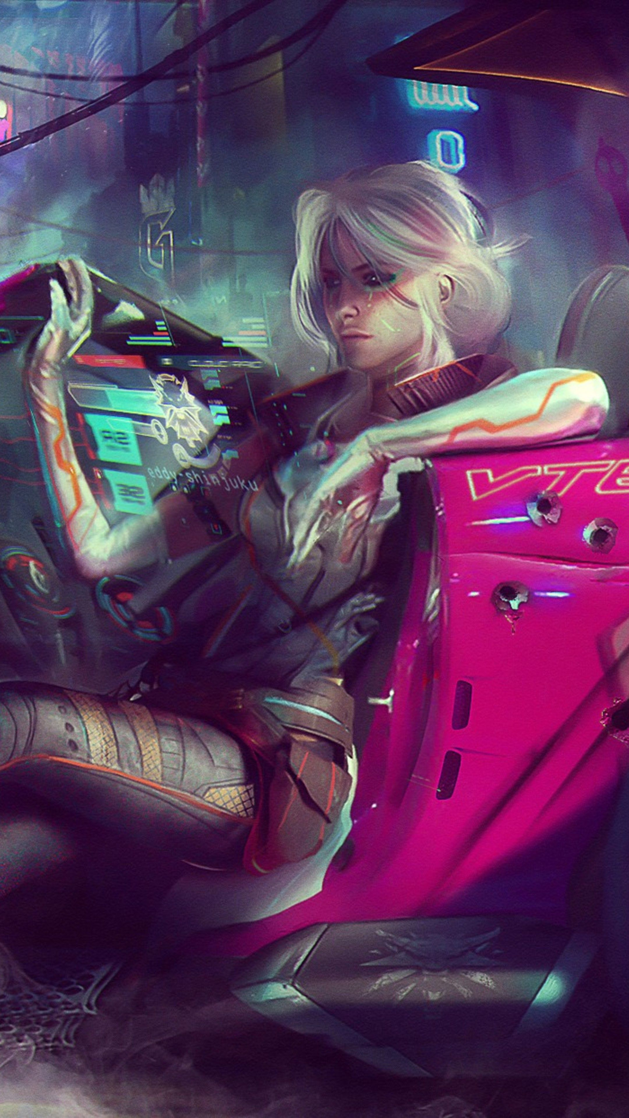 Pin by drifters rp on Ciri Cyberpunk (With images