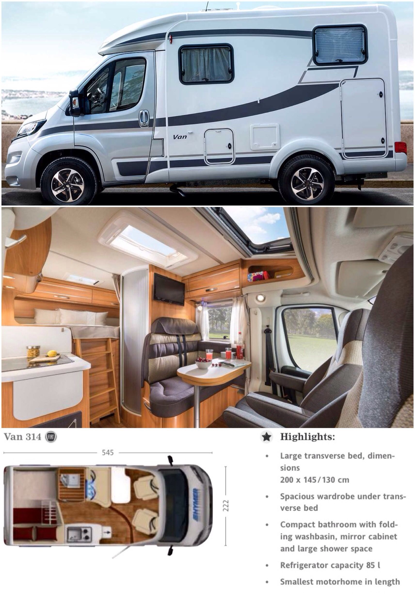 Photo of 2016 Hymer Van 314 ^*^ www.practicalmoto…