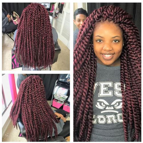 jumbo senegalese twist - Google Search | Hair Envy ...