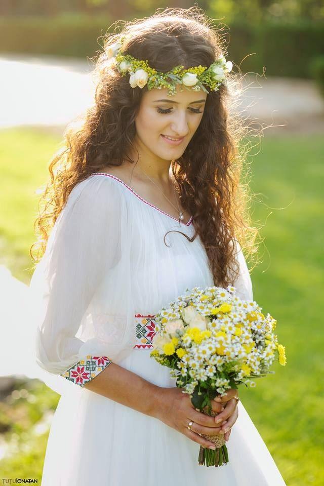Rochie De Mireasa Traditionala Romaneasca Costume Ii Si Camasi