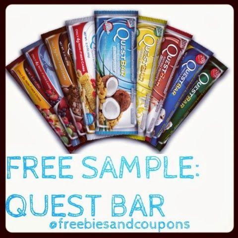 quest bar freebies