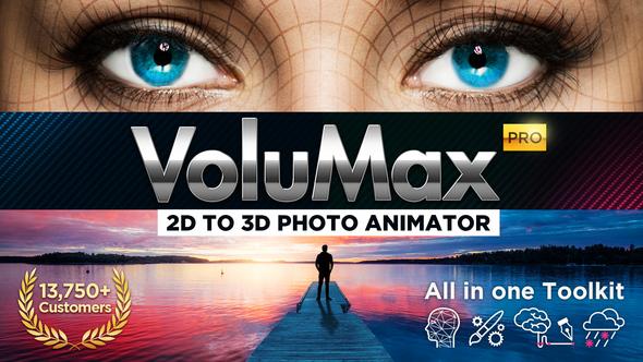 Volumax 3d Photo Animator 3d Photo Photo Videohive