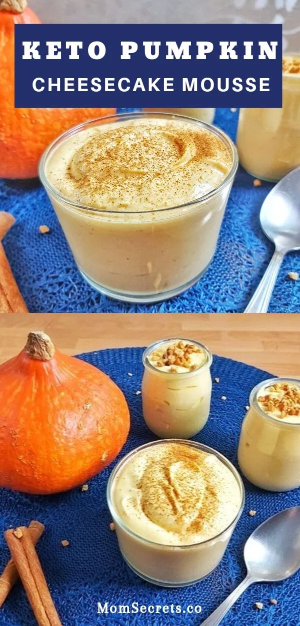 Keto Low Carb Pumpkin Cheesecake Mousse Recipe Low