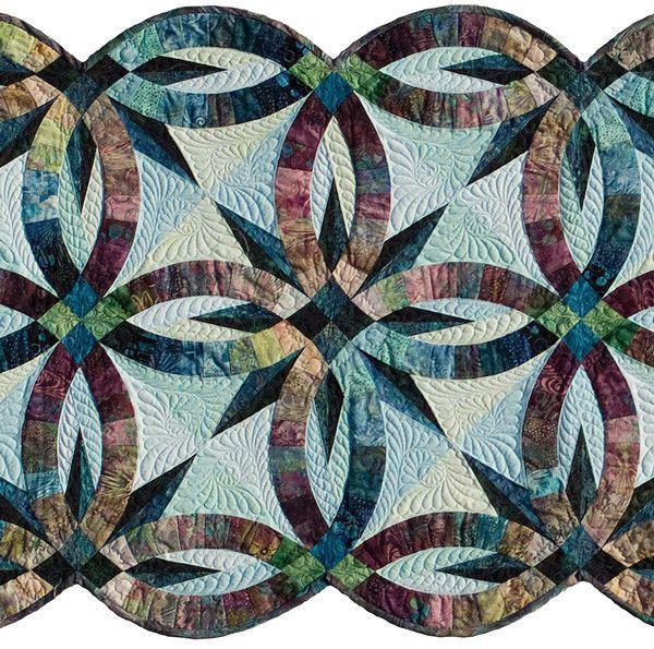 Bali Bed Runner Kit JNBP2 Star quilt patterns, Wedding