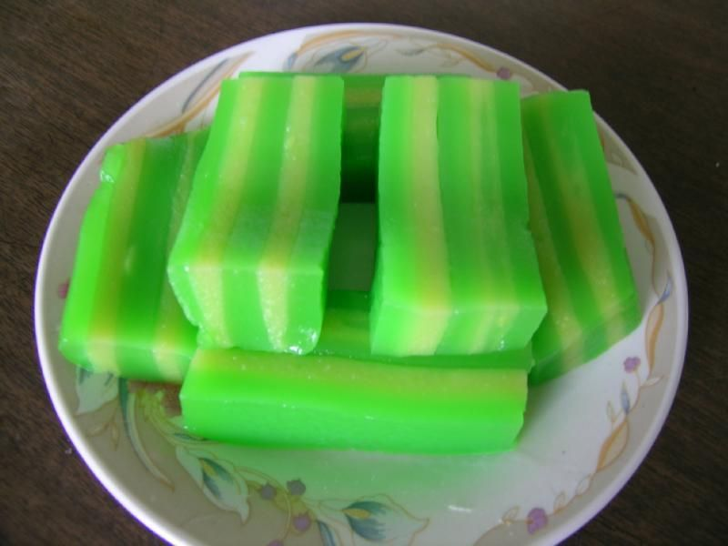 Japanese Layered Cake Recipe: Playing With My Food: Bánh Da Lợn (Steamed Tapioca Layered