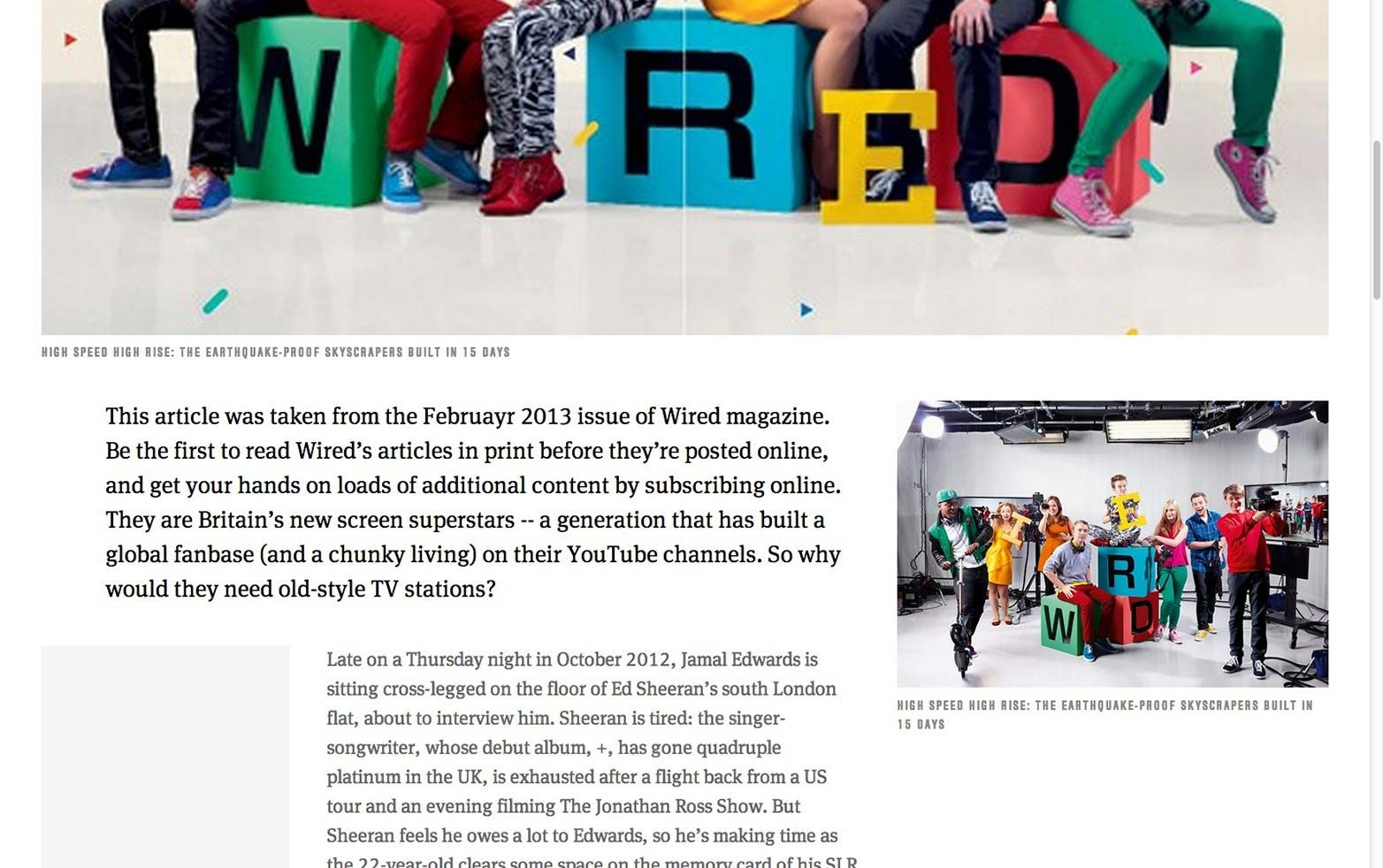 Designing the new, fully responsive wired.co.uk article pages | Articles