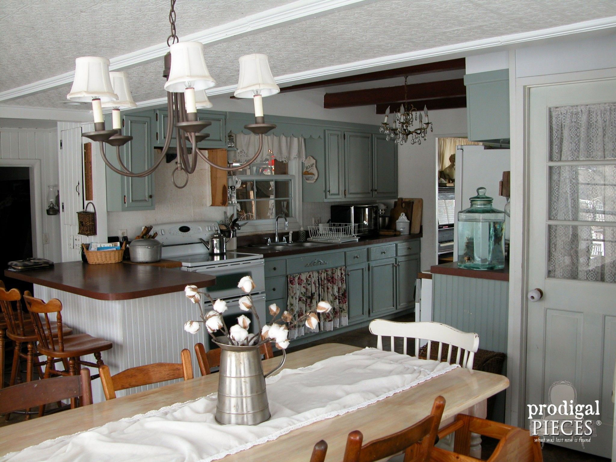Choosing kitchen flooring can be daunting task. Follow along as we remodel our kitchen and share our tips and trick with you to make the choice an easy one.