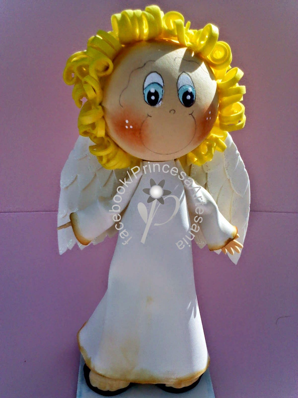 Princess Crafts Catechesis Fofucho Angel and Badges of Jesus