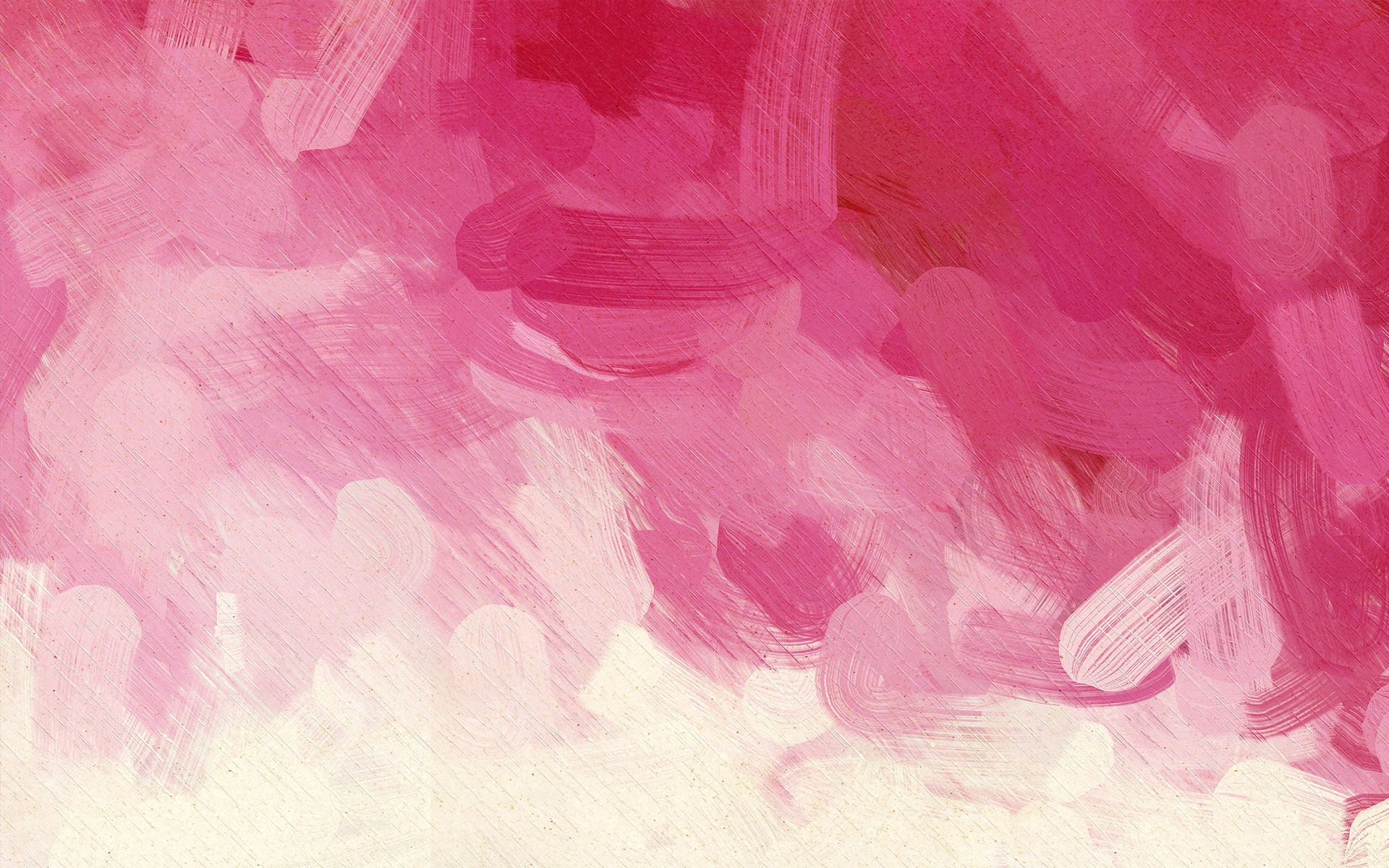 Artsy Painted Backgrounds Pink Paint Strokes Hd Wallpaper