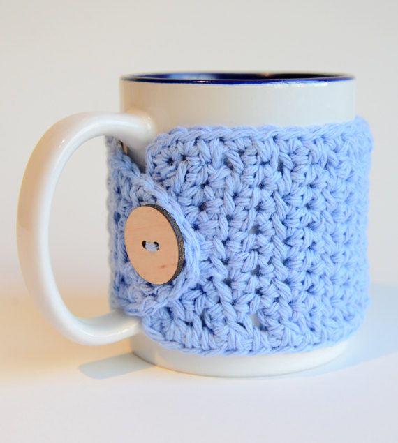 Coffee Mug Sleeve  Crochet Mug Hug  Crochet by TheSimplyHooked