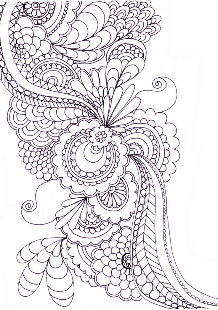 zentangle patterns to print Google Search art Adult