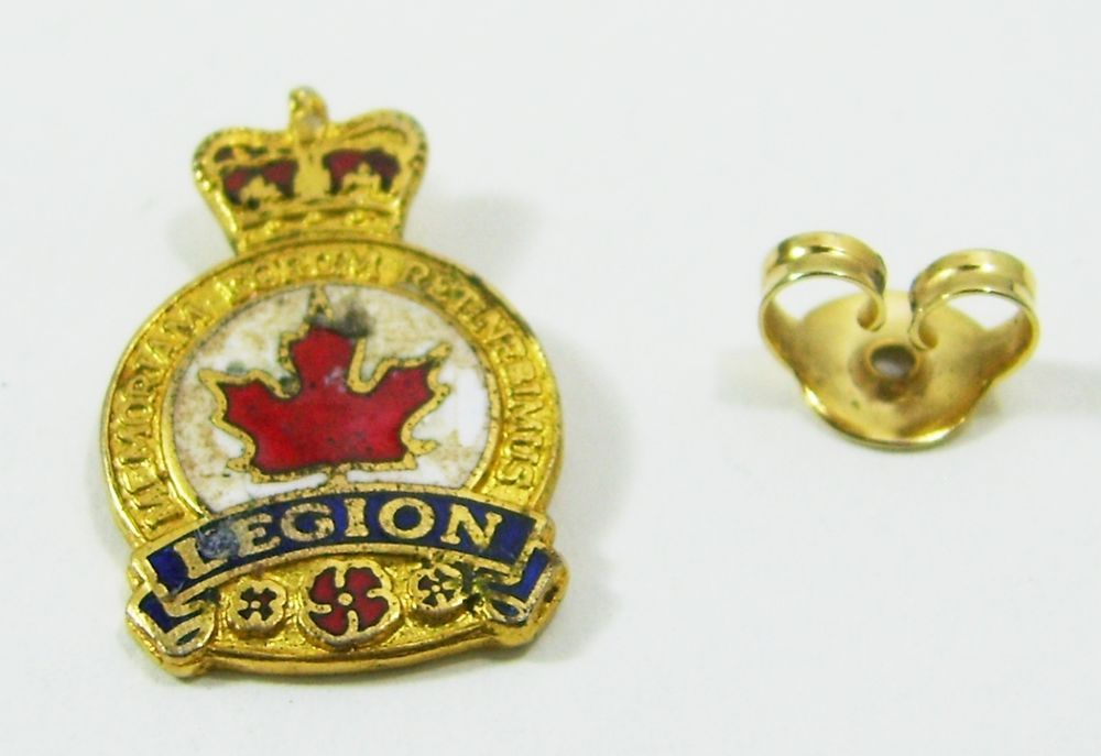 Canada Legion Pin Back Pin Pin Backs Legion Pin