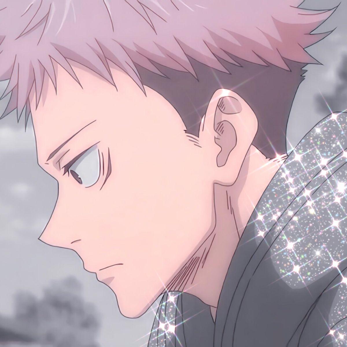 Jujutsu Kaisen Itadori Yuuji Glitter Icon Anime Drawings Boy Funny Anime Pics Anime