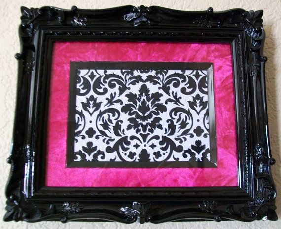 diy hot pink antique frames | Frame-Photo Frame-Picture Frame-8x10 ...