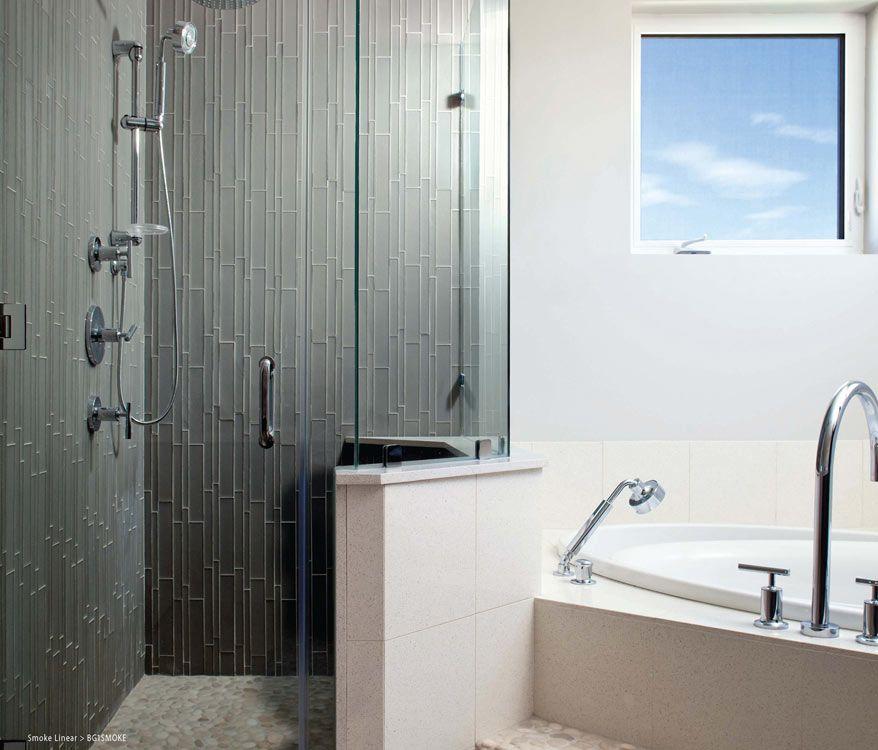 Bathrooms Facings Of America Is Smoke Linear Gl